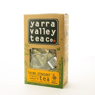 TEA THINK STRAIGHT ORGANIC 15S YARRA VALLEY TEA CO