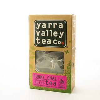 Tea Bags Organic Funky Chai 15S Yarra Valley