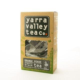 Tea Bags Organic Orange Pekoe 15S Yarra Valley