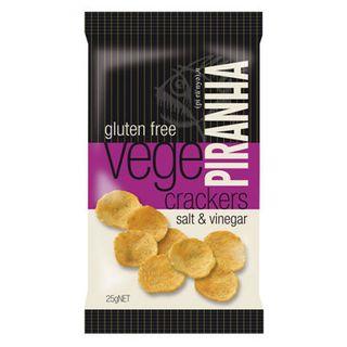 Piranha Salt & Vinegar 25G 40S G/Free