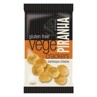 Piranha Bbq Cheese 25G 40S G/Free