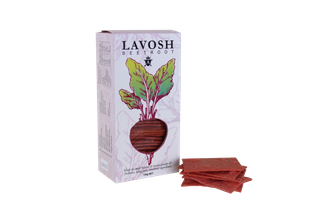 CRACKERS LAVOSH BEETROOT 130G