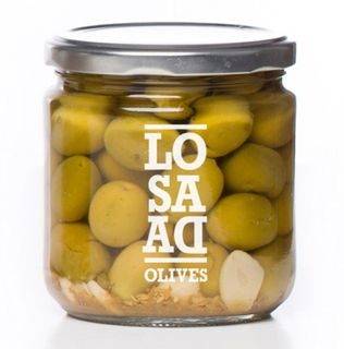 VERDAL OLIVES CRACKED 198G LOSADA