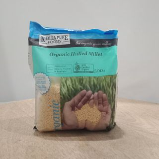 Kialla Organic Hulled Millet 500Gm
