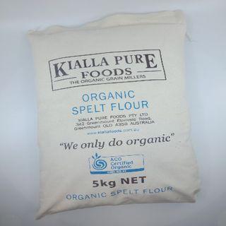 Kialla Organic Spelt Flour 5Kg