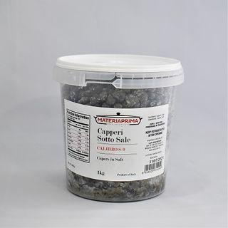 Capers In Salt 1Kg (Tub)