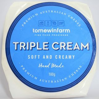 TOMEWIN FARM TRIPLE CREAM BRIE 180GM