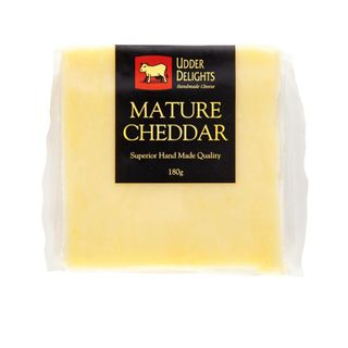 CHEESE CHEDDAR MATURE 180G