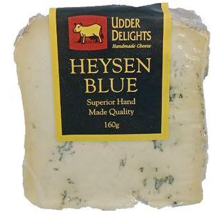 UDDER DELIGHT HEYSEN BLUE CHEESE 160GM