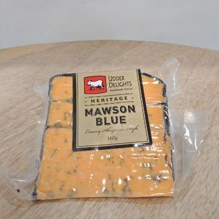 UDDER DELIGHTS MAWSON BLUE CHEESE 160GM