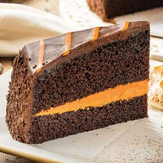 GLUTEN FREE JAFFA CAKE 16 slice - Priestleys Gourmet Delights