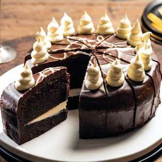TUXEDO CHOCOLATE CAKE 16 slice - Priestleys Gourmet Delights