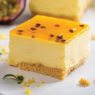 Cheesecake Lemon & Passionfruit Square Slice G/F 2.190Kg