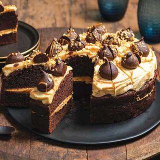 Cake Caramel Sin Round 2.540Kg