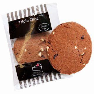 GLUTEN FREE TRIPLE CHOCOLATE COOKIE box of 10 (Wrapped) - Priestleys