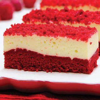 Slice Red Velvet Square Slice 1.656Kg