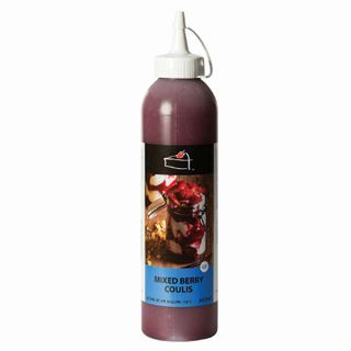 Mixed Berry Coulis Topping 500Ml Bottle - Priestleys Gourmet Delights