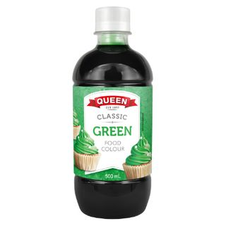 Food Colouring Green 500Ml Queen