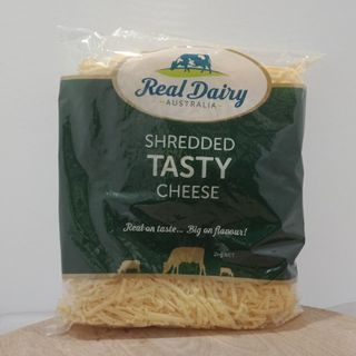 CHEESE TASTY CHEDDAR SHREDDED 2KG REAL DAIRY