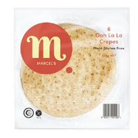 Crepes Gluten Free 180Mm 72S Marcels