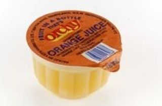 JUICE CUPS ORANGE FRZ 110MLX96 ORCHY
