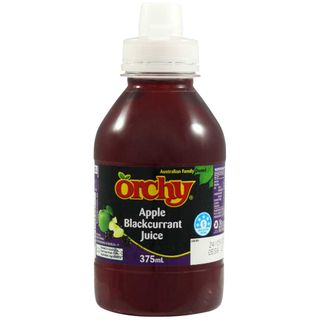 ORCHY 375ML X 8 APPLE BLACKCURRANT POP TOP JUICE