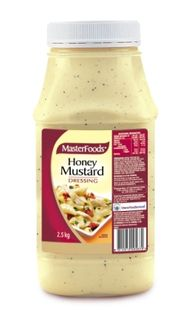 Dressing Honey Mustard 2.5Kg Masterfood