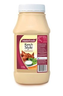 DRESSING RANCH STYLE 2.4KG MASTERFOODS