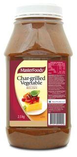 RELISH CHAR GRILLED VEG 2.5KG MASTERFOOD