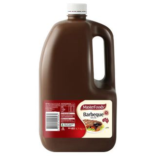 BBQ SAUCE THICK MASTERFOODS 4.7KG