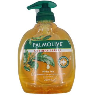 PALMOLIVE ANTIBACTERIALWHITE TEA LIQUID HAND SOAP PUMP 250ML