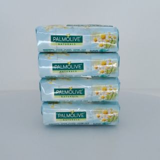 PALMOLIVE SOAP WHITE 90G 4PK