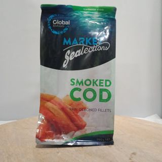 SMOKED COD FILLETS 500GM GLOBAL SEAFOOD
