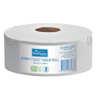 Toilet Paper Jumbo 2Ply 300M X 8Roll Ctn