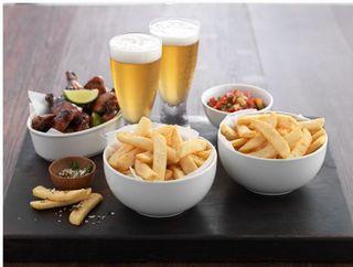 Fries Beer Battered Steakcut 12Kg Mr Chips