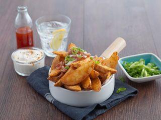 Wedges Spicy Seasoned 12Kg 8800 Mr Chips