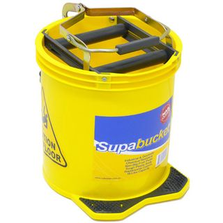 Mop Bucket Wringer Yellow 16Lt