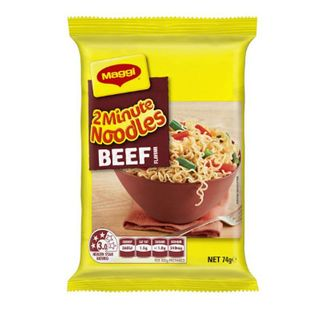MAGGI 2 MINUTE NOODLES BEEF 74GM X 5