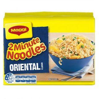 Maggi 2 Minute Noodles Oriental  74Gm X 5