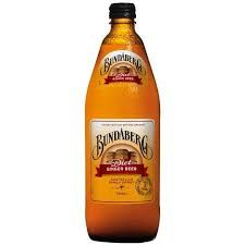 BUNDABERG DIET GINGER BEER 750ML X 12