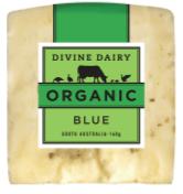 DIVINE DAIRY ORGANIC BLUE CHEESE 160GM