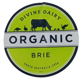 Cheese Brie Organic 200G