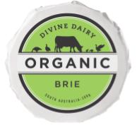 DIVINE DAIRY ORGANIC BRIE 200GM