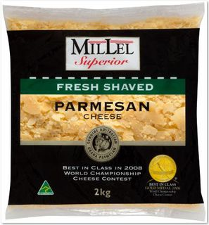PARMESAN CHEESE SHAVED 2KG MILLEL