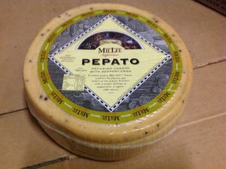 Cheese Pecorino With Peppercorns Pepato Wheel App 10Kg R/W