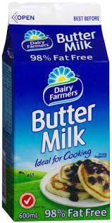 Buttermilk 600Ml Fresh Dairy Farmers