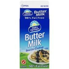 Buttermilk 600Mlx12 Dairy Farmers Carton