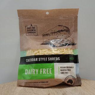 Cheese Cheddar Shred Vegan 200G Dairy Fr