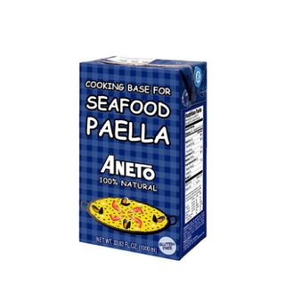 ANETO SEAFOOD PAELLA STOCK 1LT 100% NATURAL
