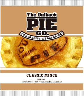 Pie Classic Mince 200Gx12 Outback